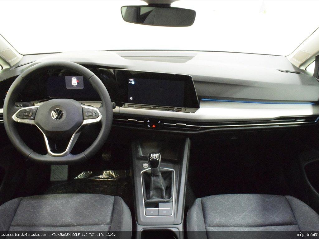 Volkswagen Golf 1.5 TSI Life 130CV Gasolina kilometro 0 de segunda mano 8