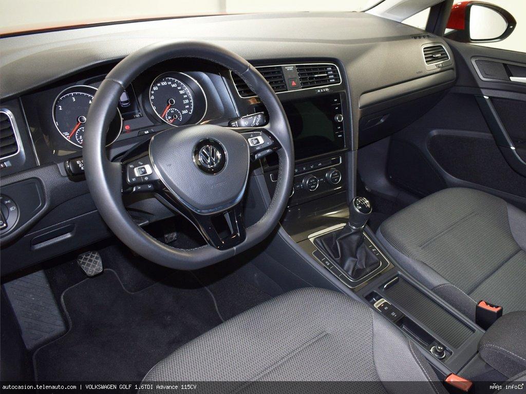Volkswagen Golf 1.6TDI Advance 115CV Diesel kilometro 0 de ocasión