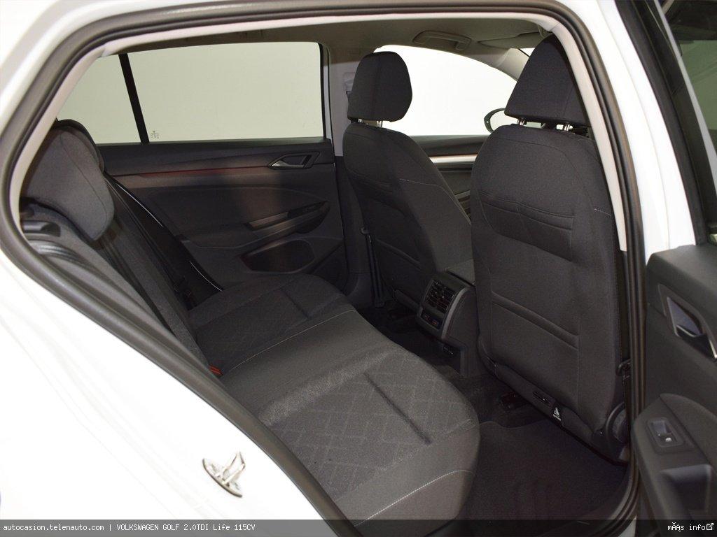 Volkswagen Golf 2.0TDI Life 115CV Diesel kilometro 0 de ocasión 11