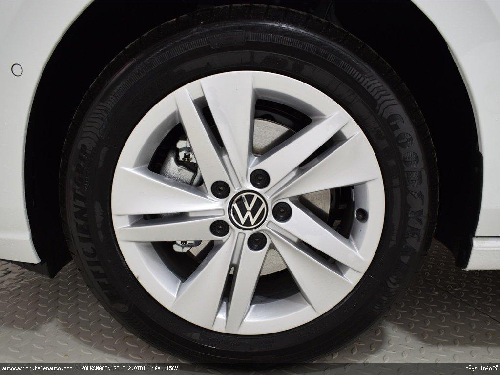 Volkswagen Golf 2.0TDI Life 115CV Diesel kilometro 0 de ocasión 6