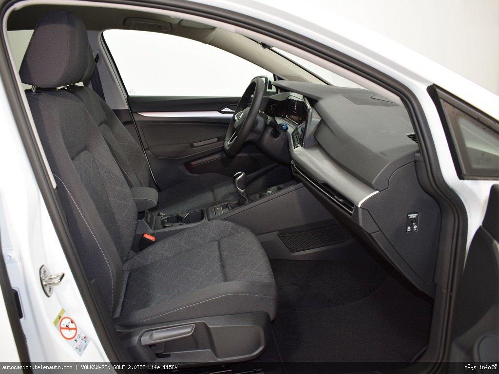 Volkswagen Golf 2.0TDI Life 115CV Diesel kilometro 0 de ocasión 7