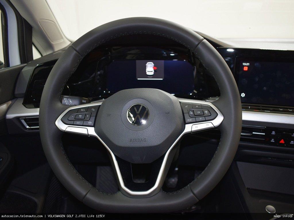 Volkswagen Golf 2.0TDI Life 115CV Diesel kilometro 0 de ocasión 9