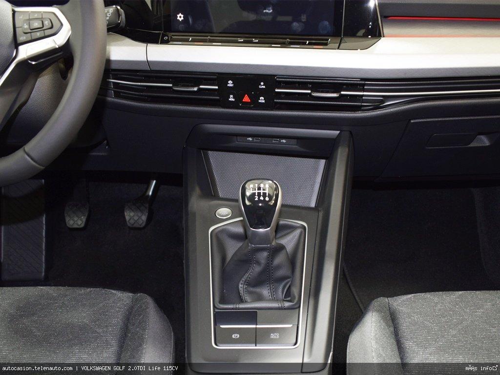 Volkswagen Golf 2.0TDI Life 115CV Diesel kilometro 0 de ocasión 10