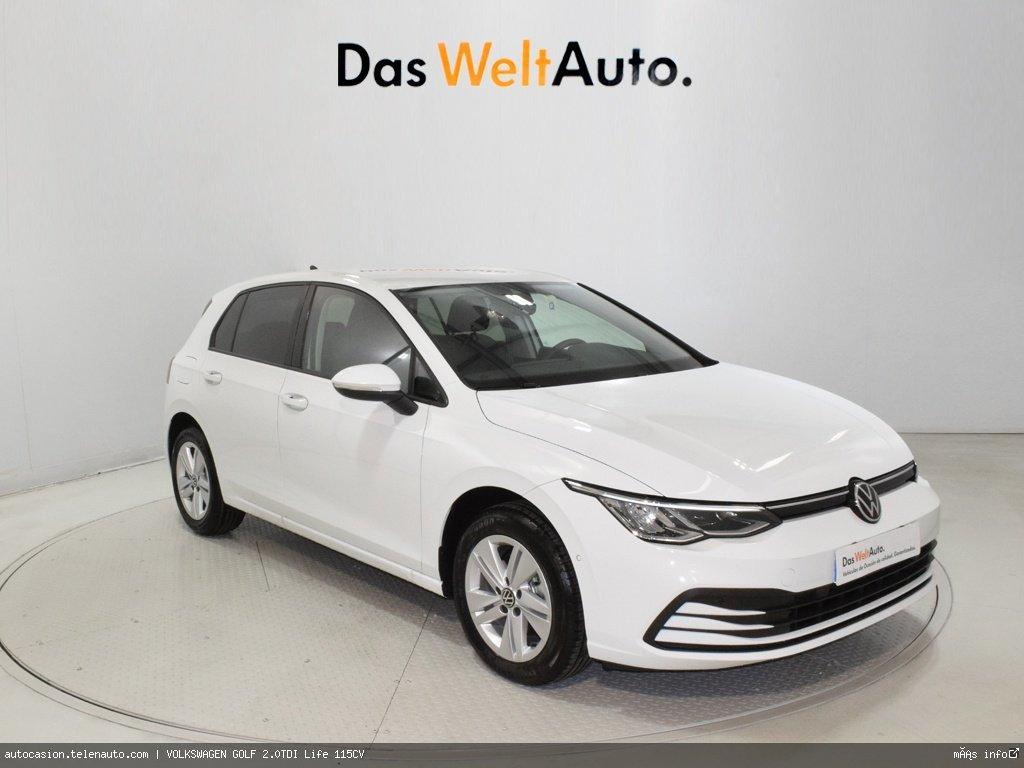 Volkswagen Golf 2.0TDI Life 115CV Diesel kilometro 0 de ocasión 1