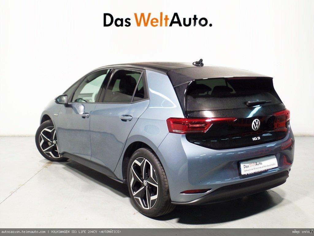 Volkswagen Id3 LIFE 204CV (AUTOMÁTICO) Electrico seminuevo de ocasión 3