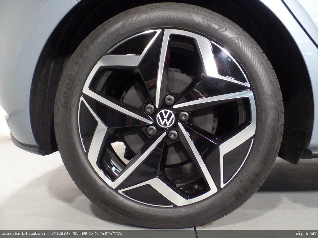 Volkswagen Id3 LIFE 204CV (AUTOMÁTICO) Electrico seminuevo de ocasión 5