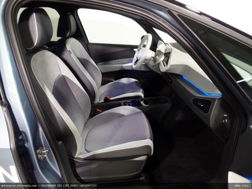 Volkswagen Id3 LIFE 204CV (AUTOMÁTICO) Electrico seminuevo de ocasión 6
