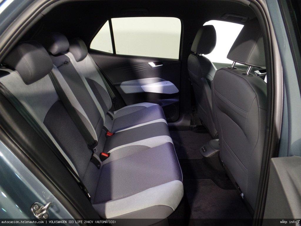 Volkswagen Id3 LIFE 204CV (AUTOMÁTICO) Electrico seminuevo de ocasión 9