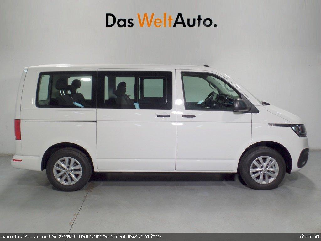 Volkswagen Multivan 2.0TDI Outdoor DSG7 150CV (AUTOMÁTICO) Diesel kilometro 0 de ocasión 2